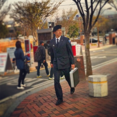 Military man - Keimyung student